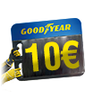 Goodyear 10 Euro Cashback Quick